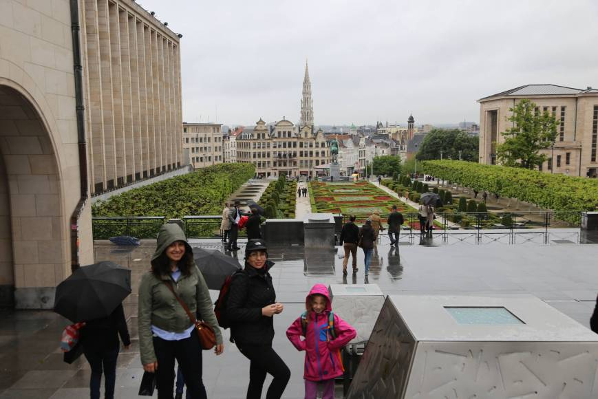 A Rainy Day in Brussels