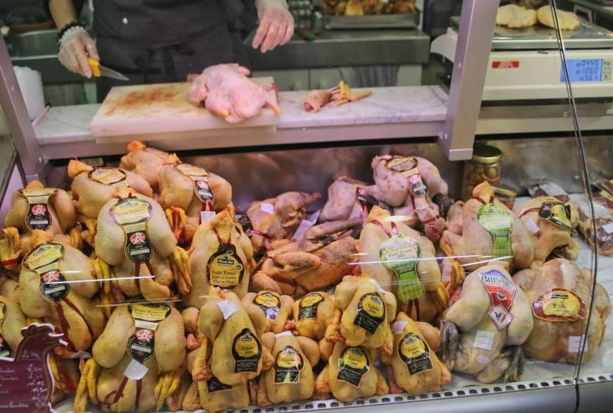 Saturday Market in Bayonne, France
