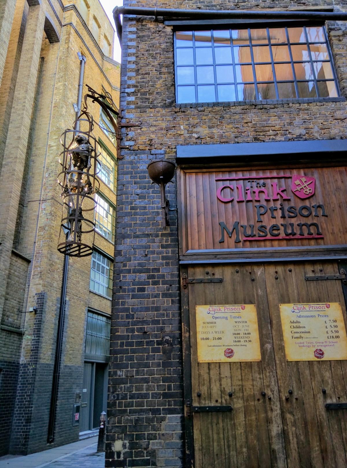 Clink Prison Museum, London