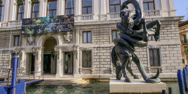 Treasures from the Wreck of the Unbelievable by Damien Hirst, Palazzo Grassi, Venice