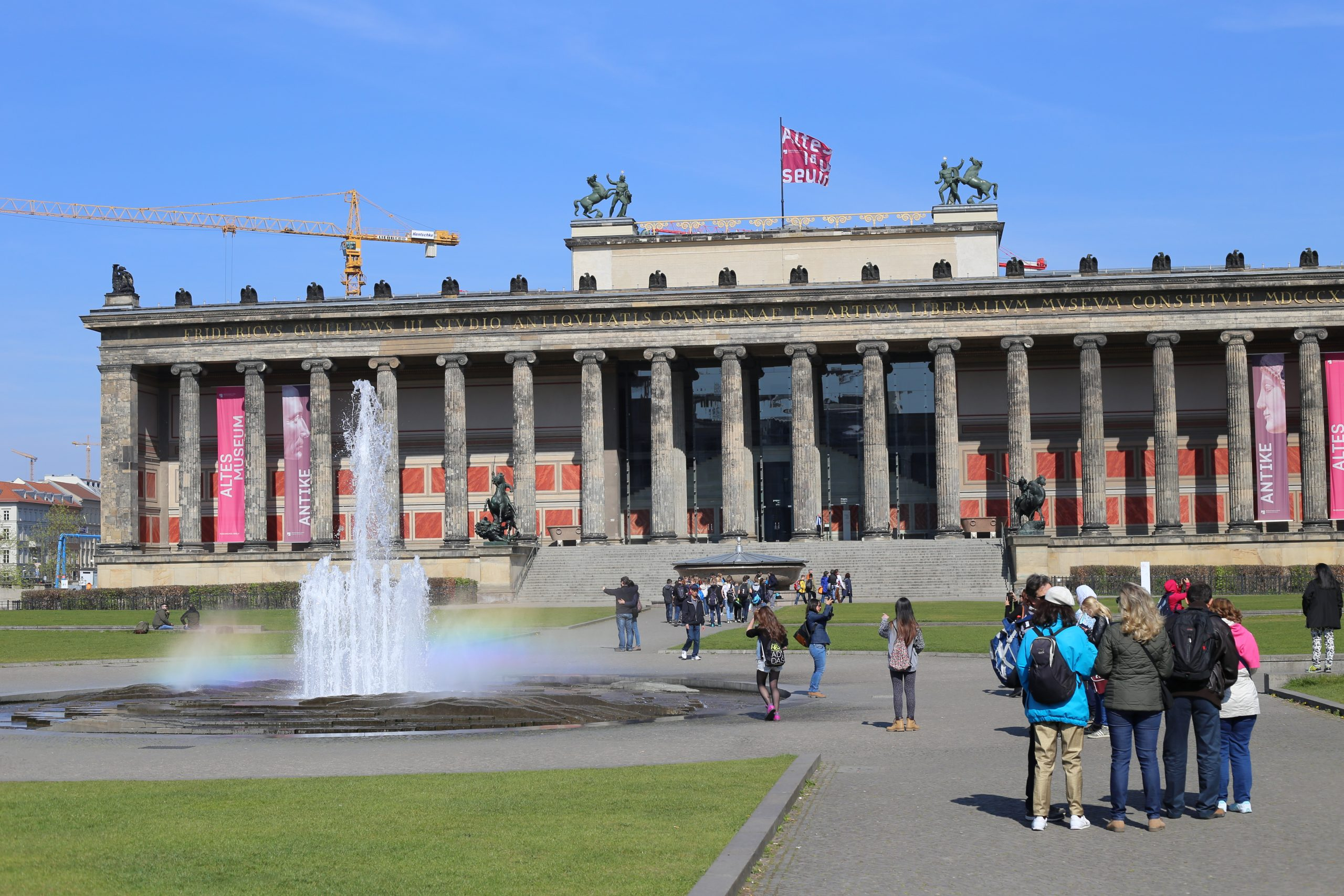 The Altes Museum, Berlin