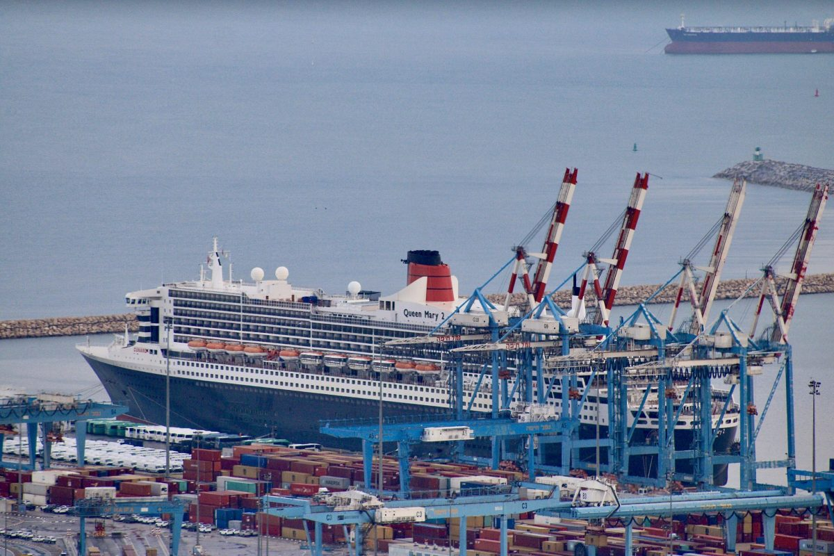 Cruise Ship Queen Mary 2