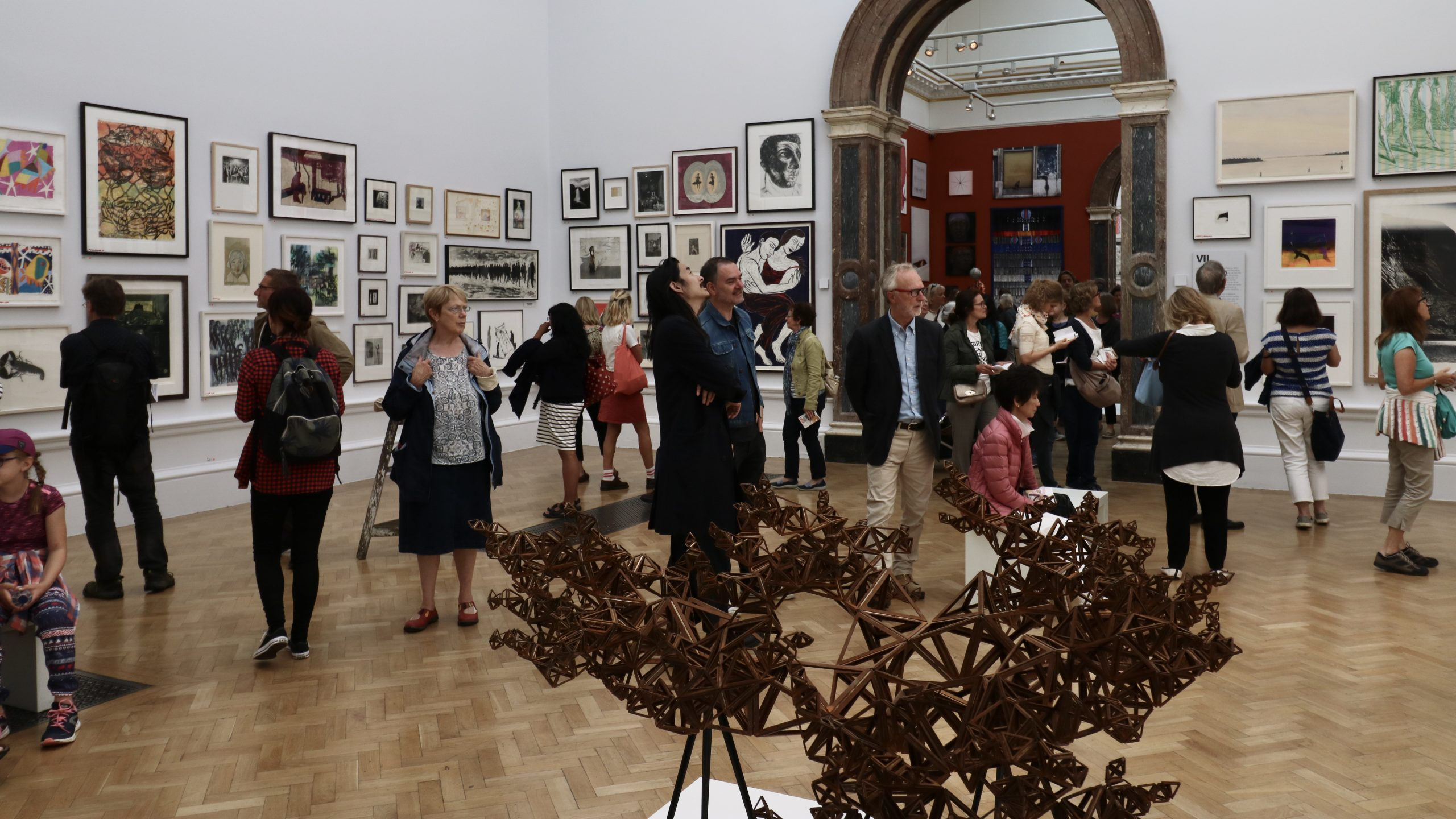Summer Exhibition in the Royal Academy of Arts, London