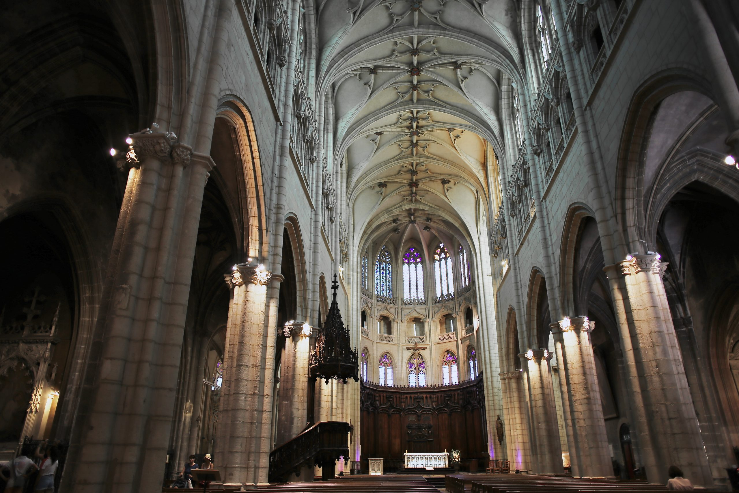 The Church of Saint-Nizier, Lyon, France