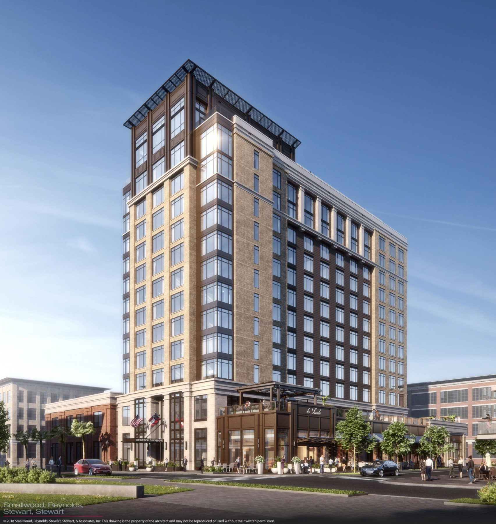 Exterior rendering of Thompson Savannah