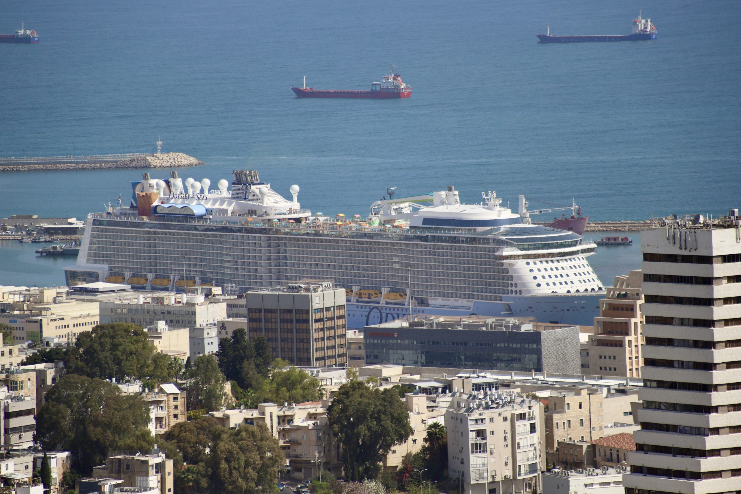 The First Post-Pandemic Royal Caribbean's Cruise Debuts from Haifa, Israel