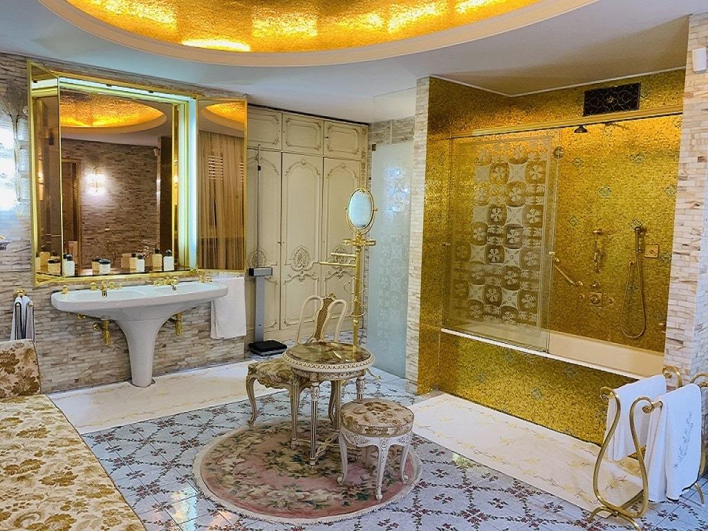 Ceausescu House Bathroom
