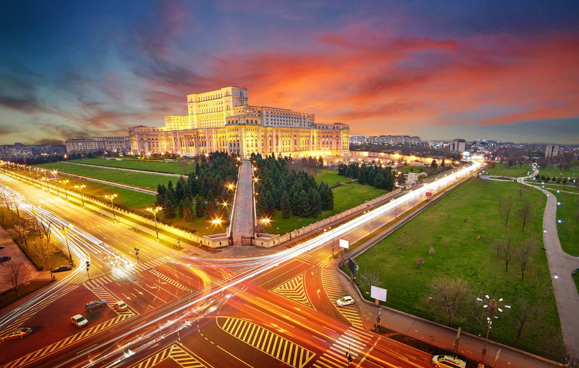 Bucharest City Tour by Night