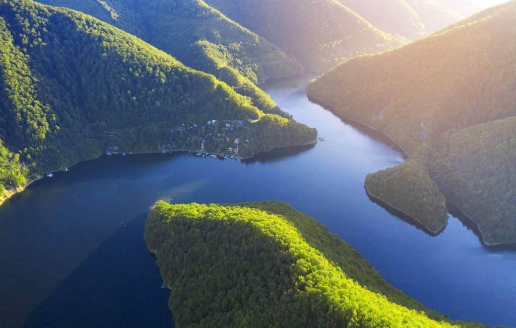 Tour from Cluj to Turda Salt Mine and Tarnita Lake