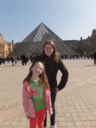 Teen girl summer trips to france