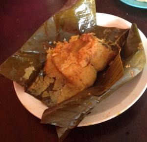 Tamales, typisch zentralamerikanisch!