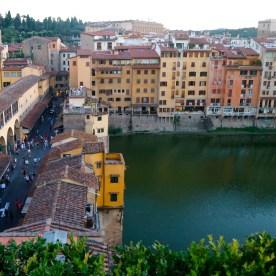 View over the Ponte Vecchio