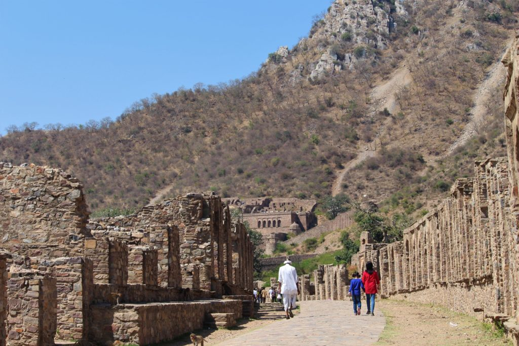 Bhangarh Fort with Kids Entrance