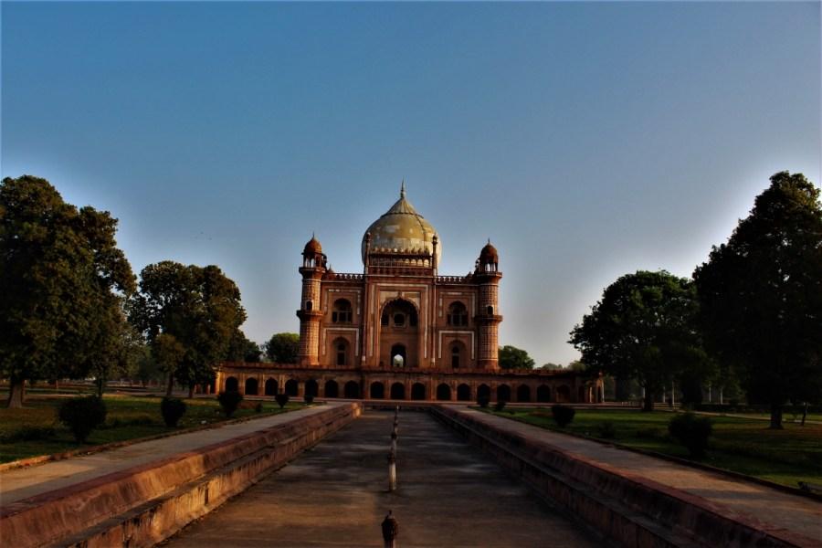 The Tomb of Safdarjung in Delhi