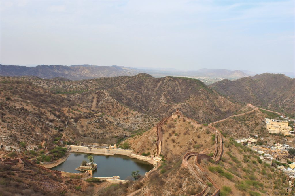 Things to do in Jaipur with Kids Jaigarh Fort View