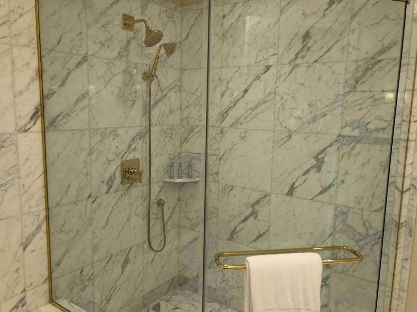 Bathroom Trump international Hotel