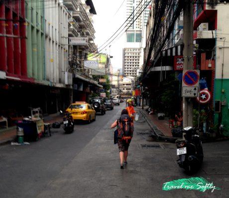 Taxistas de Bangkok