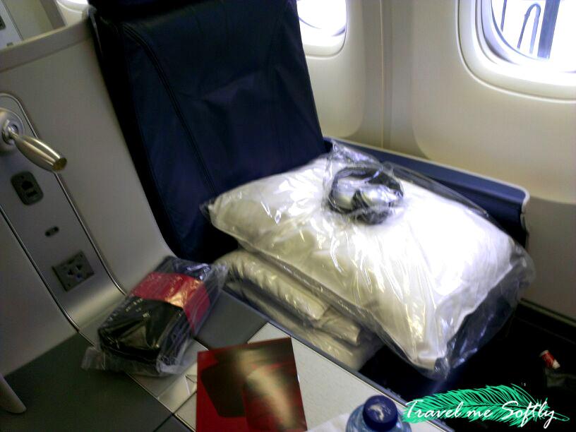 viajar en primera clase asiento