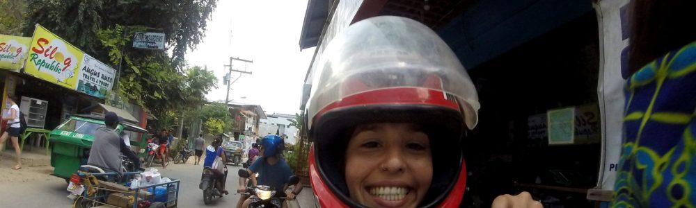 Alquilar una moto en El Nido