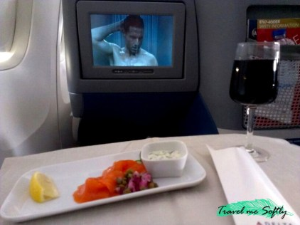 salmon viajar en primera clase