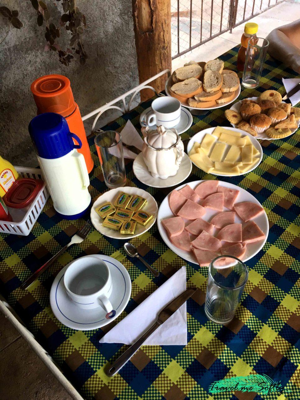 Desayuno alojamiento en Trinidad Yumy