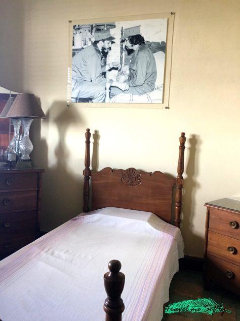 Dormitorio casa del Che Guevara