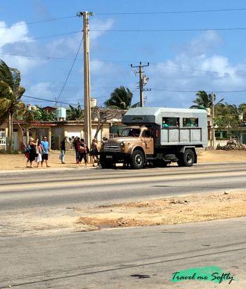 ir de Varadero a La Habana en colectivo