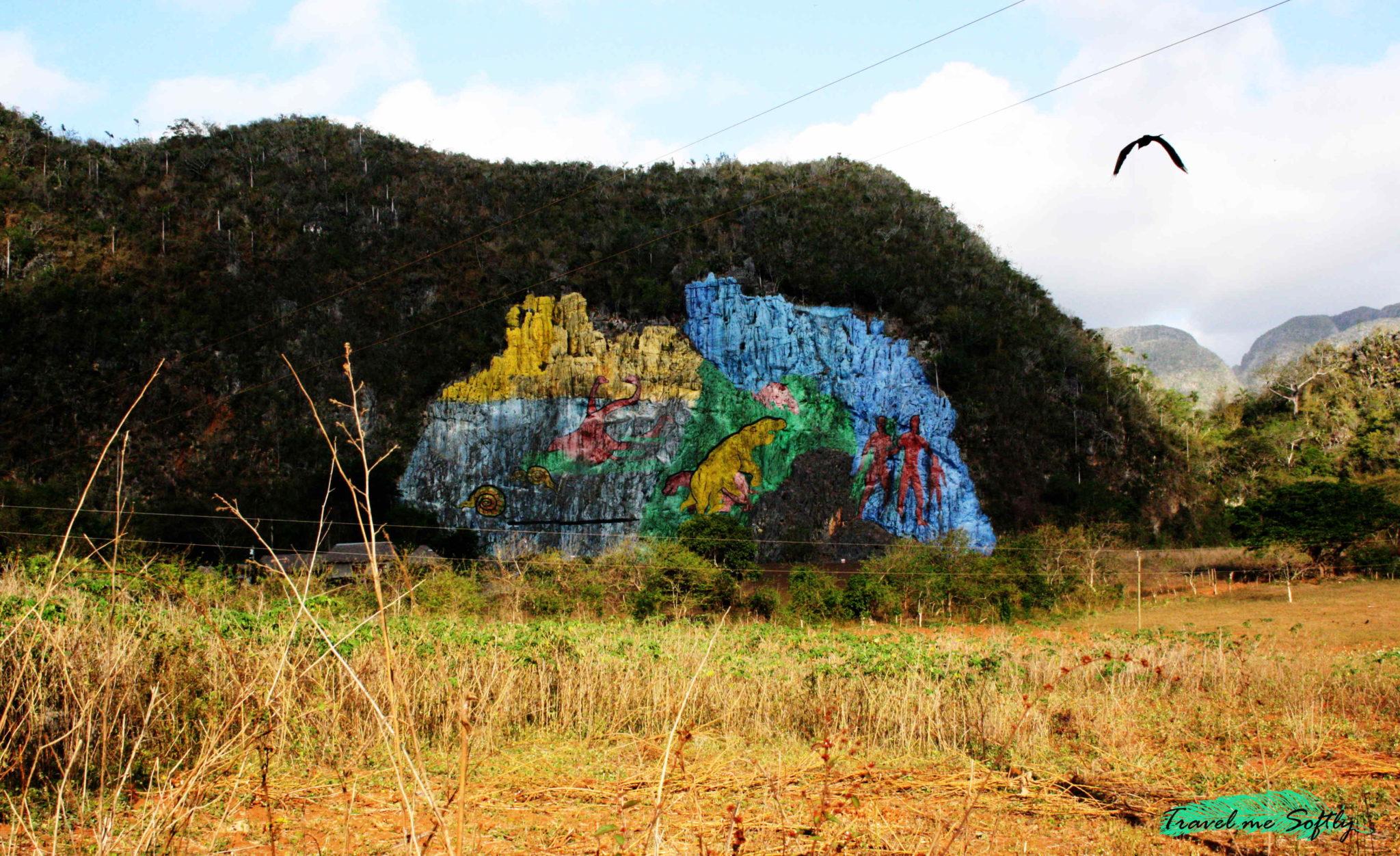 mural de la prehistoria valle de viñales