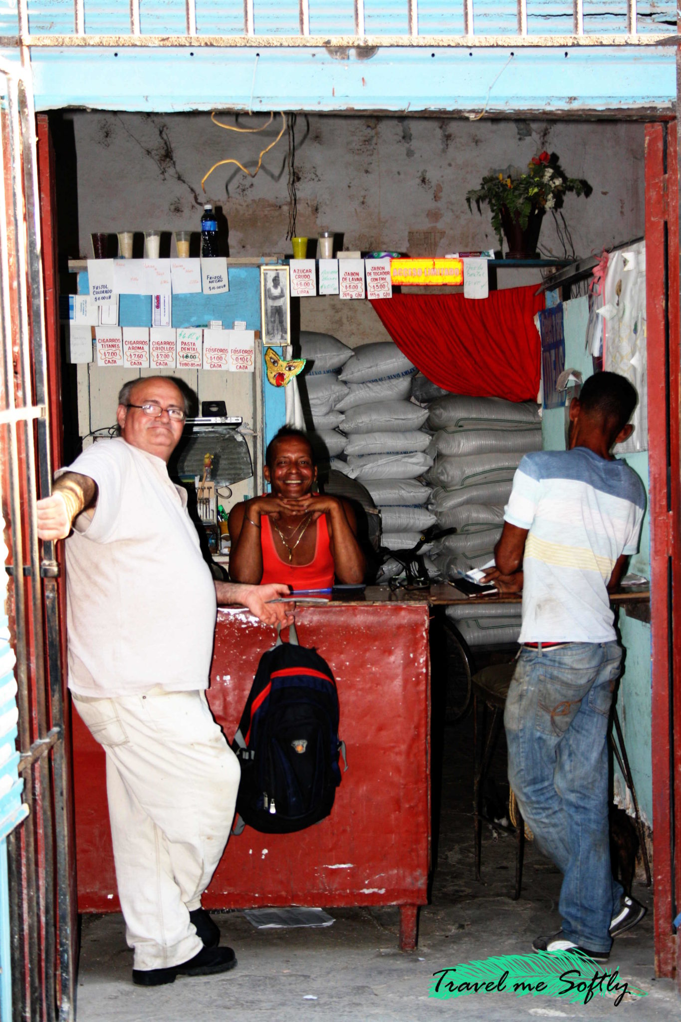 comercio de La Habana Cuba
