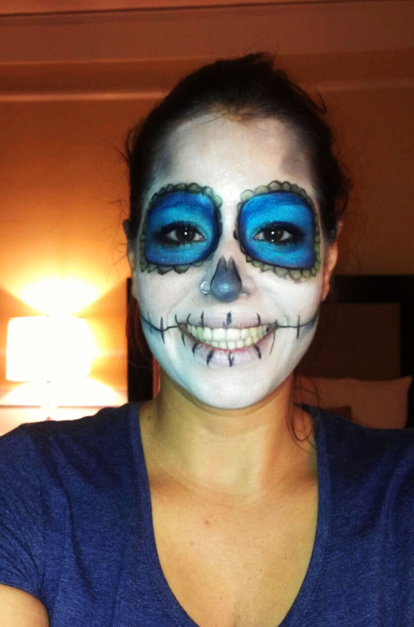 halloween en San Francisco make up