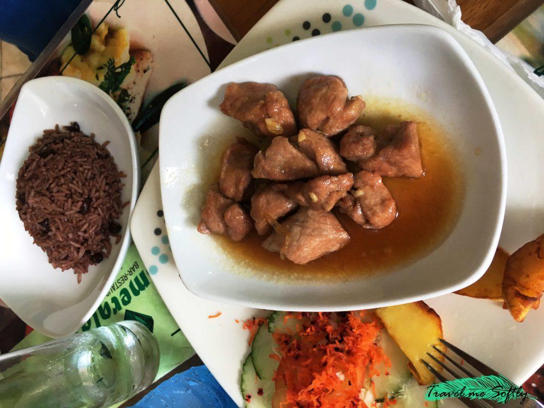 masa de cerdo frita de la gastronomía cubana
