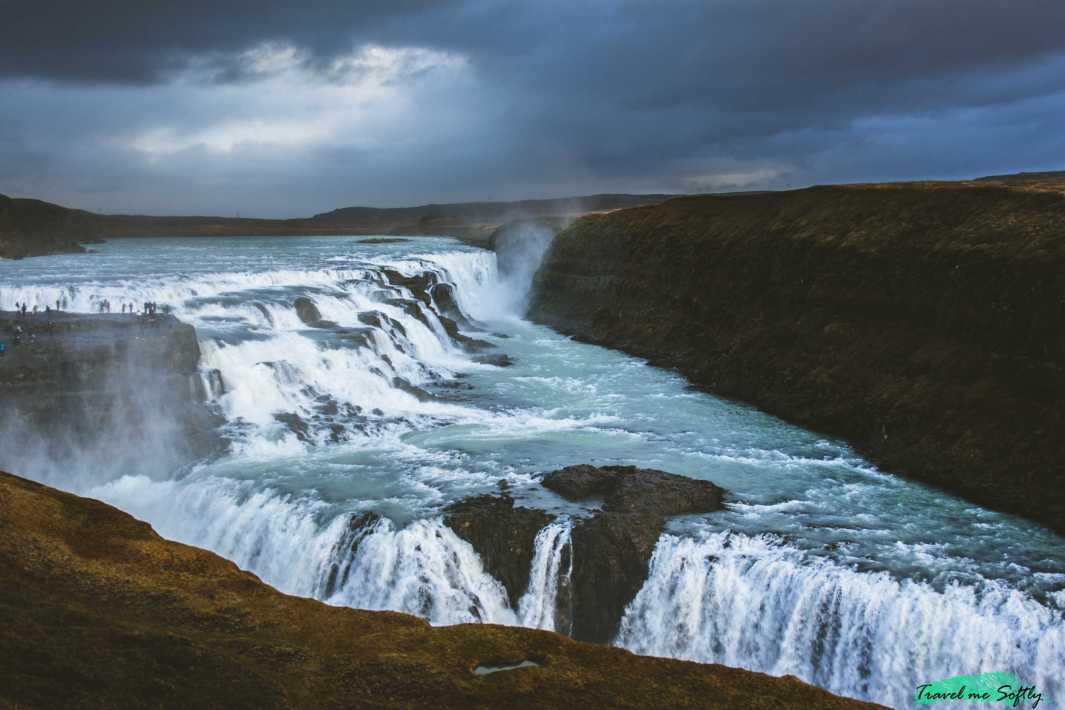 Cascadas de Islandia Gullfoss