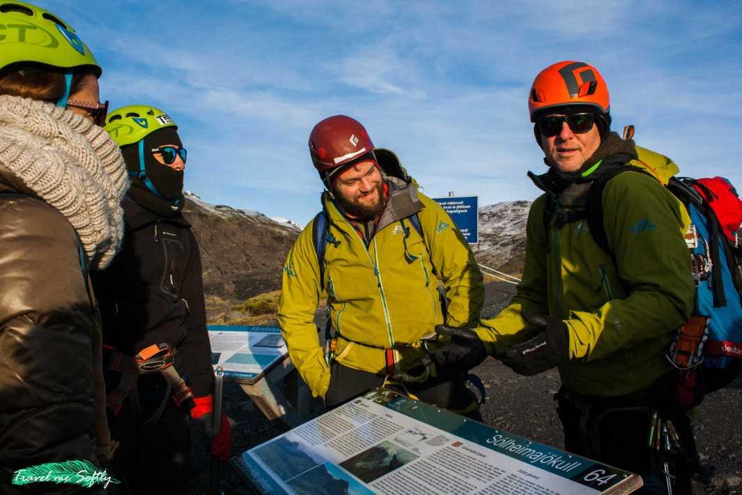 explicaciones sobre la escalada en hielo