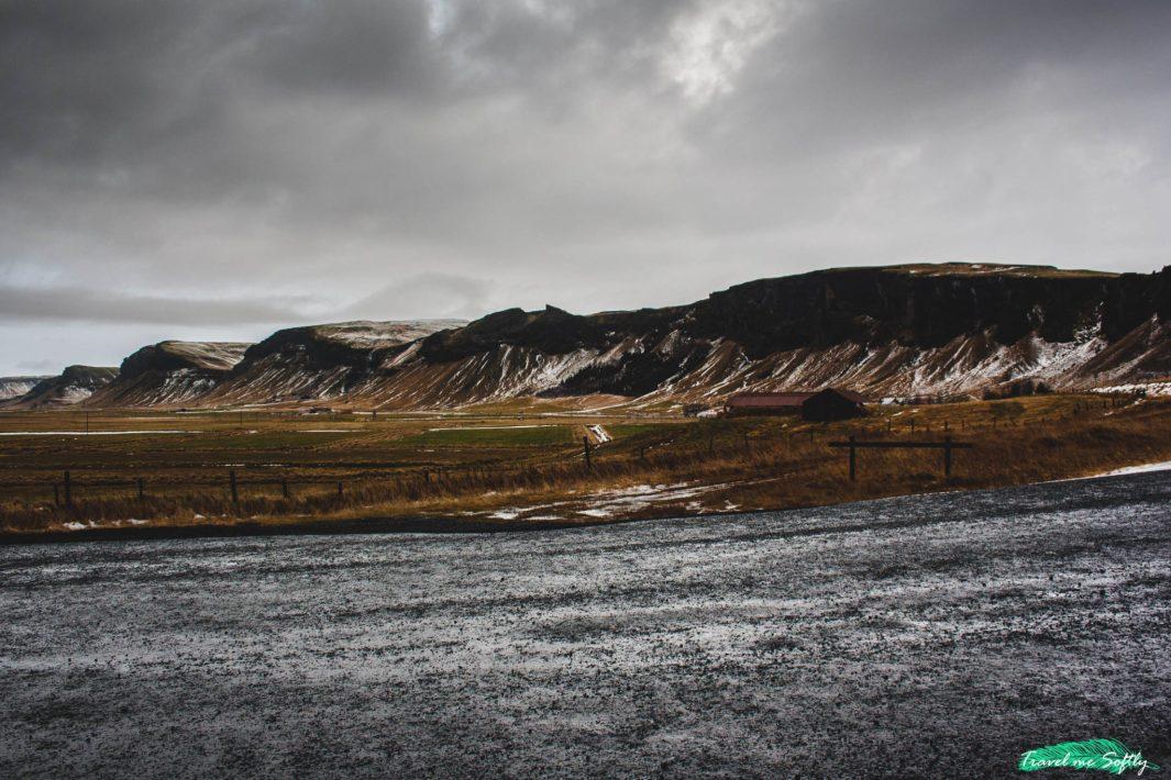 vistas desde columnas basalticas dverghamrar