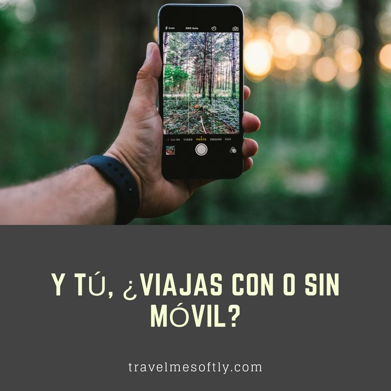 viajar sin móvil