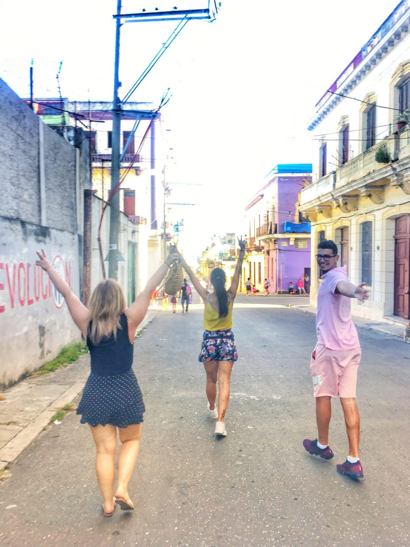 viajeros cuba