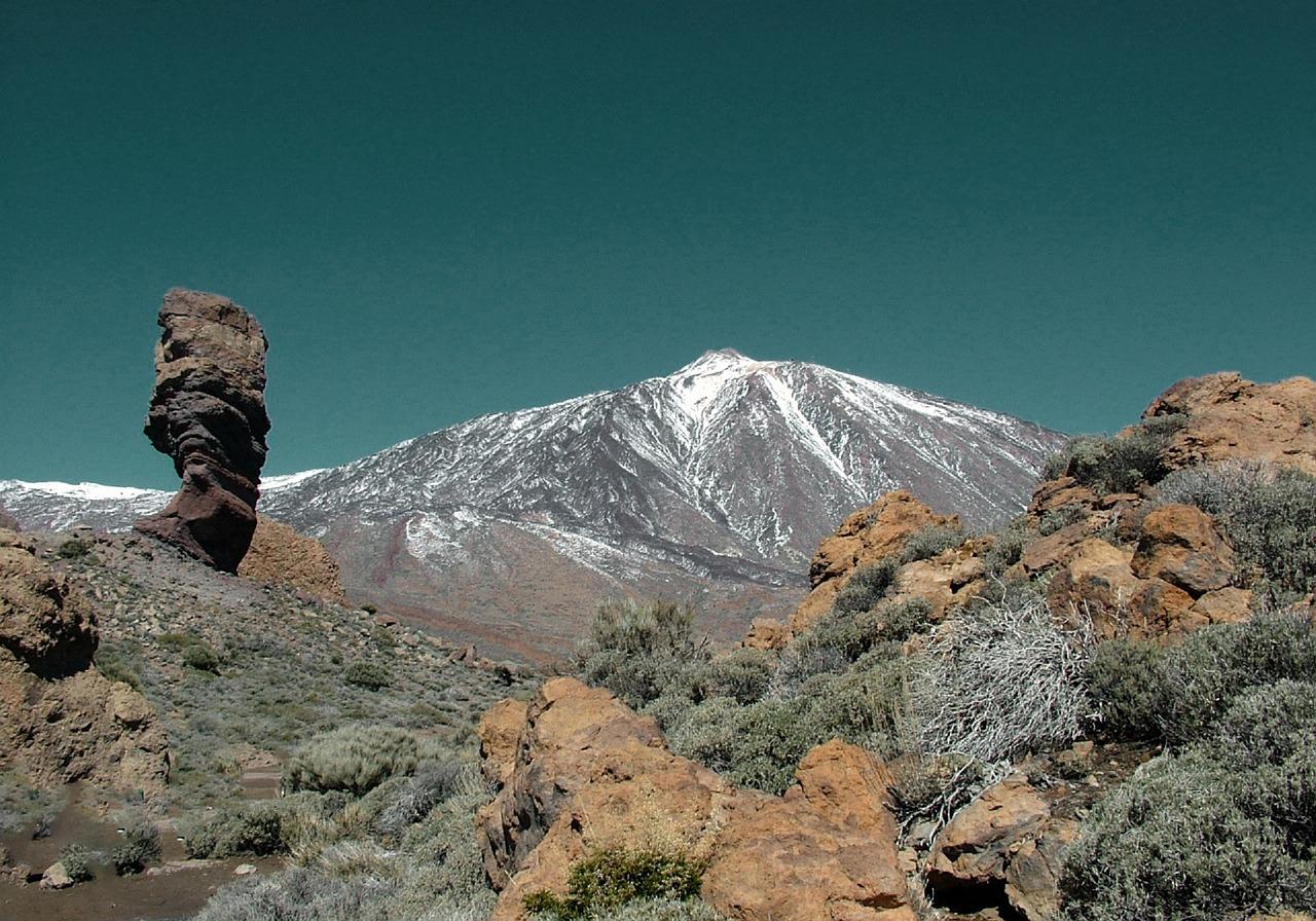 Teide lugares de España