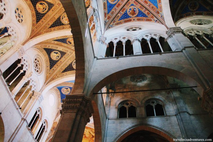 Interno Cattedrale Frediano Lucca