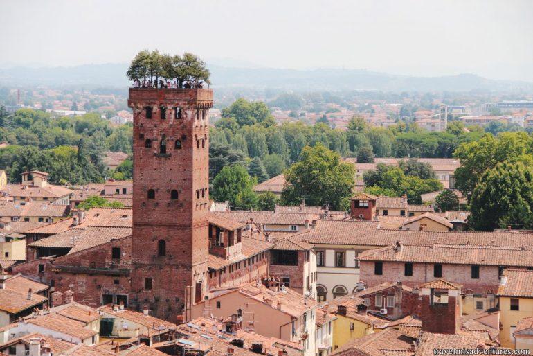 Torre Giunigi giornata a Lucca