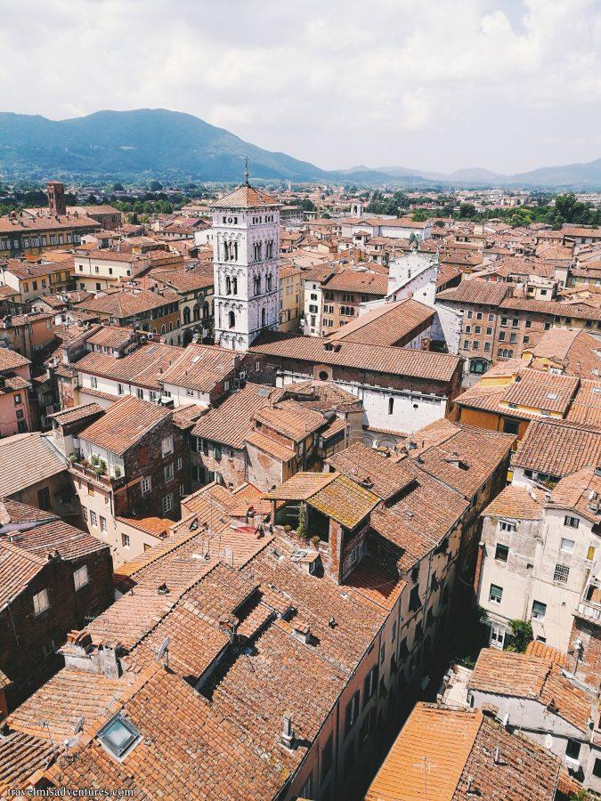 Punti panoramici da cui vedere Lucca