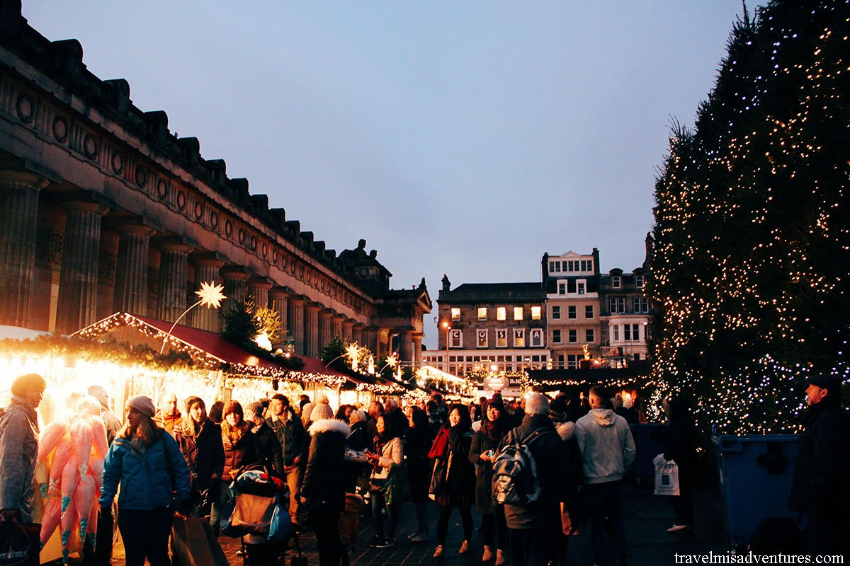 Il Natale in Scozia e i mercatini di Glasgow ed Edinburgo