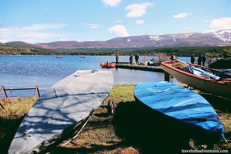 Loch-Morlich-Scozia-lago