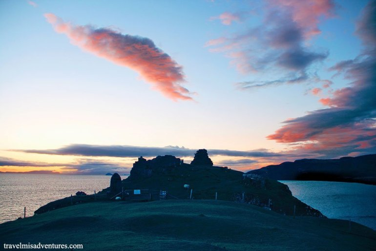 duntulum-castle-isola-di-skye-tramonto