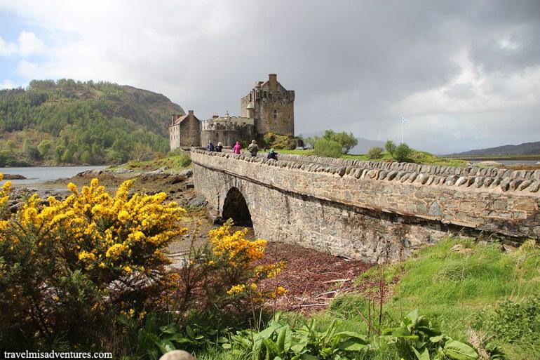 Eilean Donan castello scozia viaggio