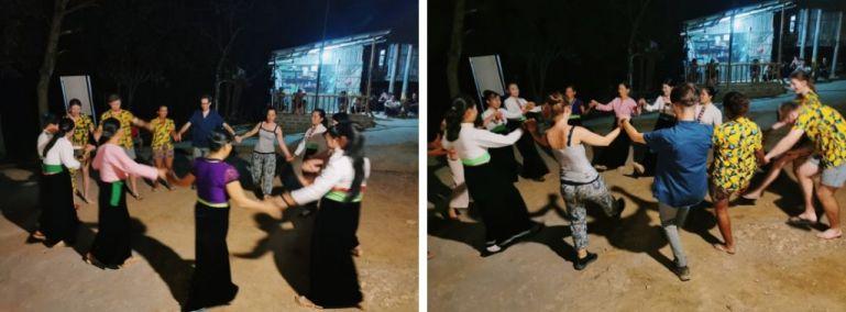 Volontariato in Vietnam: balli tradizionali