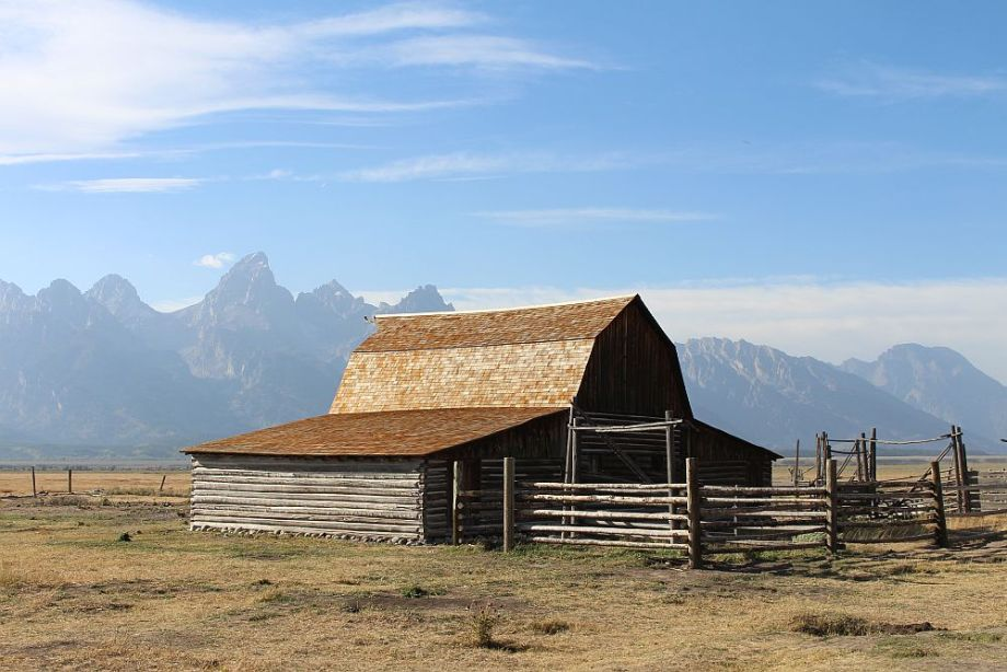 Grand Teton Mormon Row