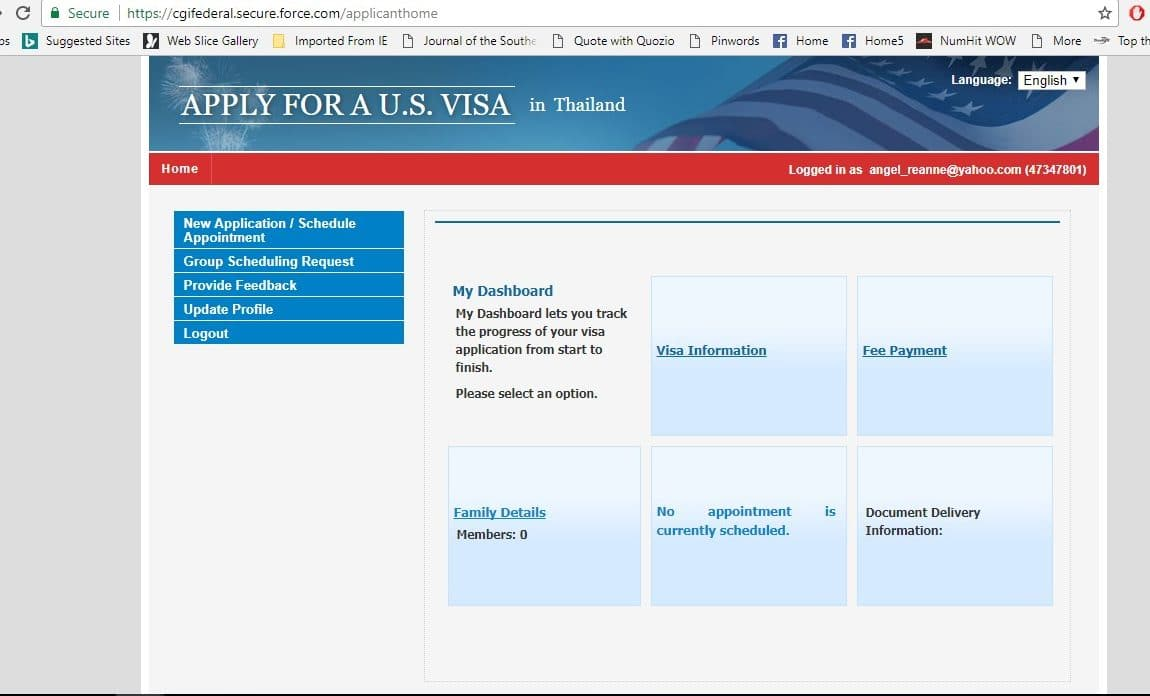How To Apply For A Us Tourist Visa In Thailand Travel Moments