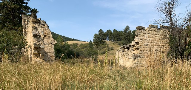Kendall ghost town in Montana