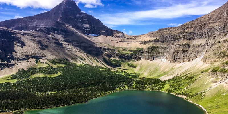 One of the best places to visit in Montana is Glacier National Park and places to hike.