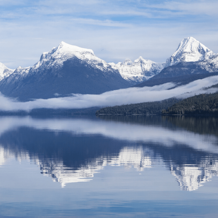 Lake McDonald is one of the first sites you'll see when visiting Glacier National Park from the West Entrance of this Montana park.